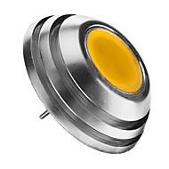 2w g4 led világítás izzók 1db cob 160lm meleg fehér 3000k dekoratív dc 12v