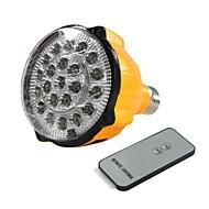 E27 4W LED fehér izzó újratölthető vészvilágítás lámpa Spotlight Távirányító
