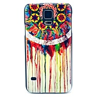 """Для Кейс для  Samsung Galaxy С узором Кейс для Задняя крышка Кейс для Рисунок """"Ловец снов"""" PC Samsung S5"""