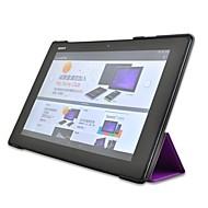 halpa -ujo karhu ™ Custer tyyliin seistä fiksu kova kuori nahka suojakotelo Sony Xperia z2 10,1 tuuman Tablet PC
