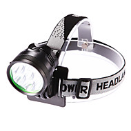 Headlamps Headlight LED 5000 lm 3 Mode Cree XM-L T6 Adjustable Focus Waterproof for Camping/Hiking/Caving Everyday Use Cycling/Bike