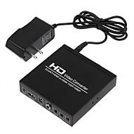 Scart + HDMI till HDMI omvandlare