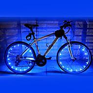 Pyöräilyvalot pyörän valot LED Pyöräily Vedenkestävä AA Lumenia Akku Pyöräily-FJQXZ