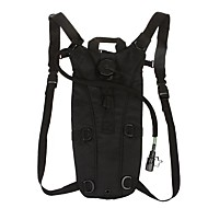 Bike Bag 3LCycling Backpack Hydration Pack & Water Bladder Water Bottle Pocket Including Water Bladder Bicycle Bag Nylon Cycle Bag