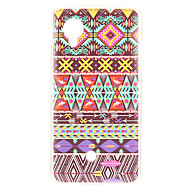 Case For LG Nexus 5 LG LG Case Pattern Back Cover Lines / Waves Soft TPU for