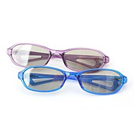 m&ochelari 3D retarder lumină polarizată k model Childern pasiv pentru RealD IMAX cinema (4 buc)