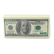 100 دولار الدولار المال نمط الأنسجة منديل ورق التواليت 10 ورقة لكل كيس هدية