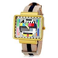 Недорогие Фирменные часы-JUBAOLI Муж. Нарядные часы Кварцевый Повседневные часы Материал Группа Кулоны Разноцветный