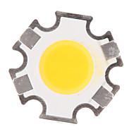 abordables 70% de DESCUENTO y Más-ZDM® 1pc COB 280-320 lm Luminoso / Accesorio de la bombilla Chip LED Cuerpo completo de silicona / Pure Gold Wire LED 3 W