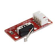 お買い得  Arduino 用アクセサリー-020805エンドストップランプ3Dプリンタ用の1.4機械式リミットスイッチ - 赤