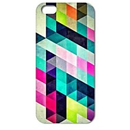 Colorful Diamond Puzzle Pattern Hard Case for iPhone 4/4S iPhone Cases