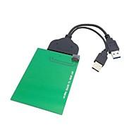 """저렴한 -SATA 22pin 2.5 """"하드 디스크에 USB 3.0은 SFF-8784 SATA는 SSD 어댑터 0.2의 0.6ft을 표현 wd5000mpck하기"""