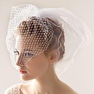 Vjenčani velovi Two-tier Rumenilo Burke 10-20 cm Til Bijela Retka, Ball haljina, princeza, Plašt / stupac, Truba / sirena