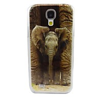For Samsung Galaxy Case Pattern Case Back Cover Case Elephant PC Samsung S4