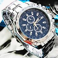 levne Šperky&Hodinky-Pánské Křemenný Náramkové hodinky Hodinky na běžné nošení Slitina Kapela Přívěšky Stříbro