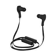 cuffia stereo senza fili bluetooth v3.0 con neckband sport microfono per iPhone 6 / iphone 6 più (nero)