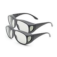 m&k lumina polarizata de încetinire generală model îngroșa ochelari 3D pentru TV (2 buc)