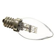 お買い得  LED キャンドルライト-0.5W 15-20 lm E12 LEDキャンドルライト C35 3 LEDの 装飾用 ナチュラルホワイト AC 220-240V