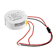 voordelige LED Driver-0.3a 31-36w dc 90-140v naar AC 85-265V cirkelvormige externe constante stroom voeding driver voor led plafondlamp