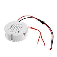 お買い得  LEDドライバ-LEDシーリングランプ用のAC 85  -  265V円形の外部の定電流電源ドライバに0.3A 15〜18ワット直流40-70v