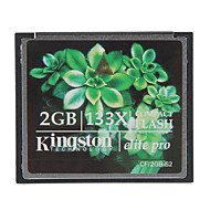 abordables Tarjetas de Memoria-kingston 2gb elite pro tarjeta de memoria Compact Flash 133x cf