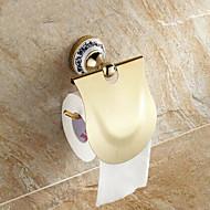 abordables Gadgets de Baño-Soporte para Papel Higiénico Clásico Latón 1 pieza - Baño del hotel