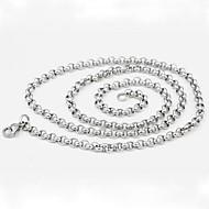 ieftine -Lănțișoare Oțel titan Argintiu Coliere Bijuterii Pentru Zilnic Casual