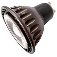 お買い得  LED スポットライト-3W GU10 LEDスポットライト MR16 1 COB 240 lm 温白色 装飾用 AC 85-265 V