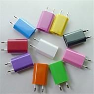 billige -Oplader til hjemmet Lille og mobil oplader Telefon USB oplader EU Stik 1 USB-port 1A AC 100V-240V Til mobiltelefon