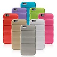 お買い得  HHMM-のために iPhone 6ケース / iPhone 6 Plusケース パターン ケース バックカバー ケース ソリッドカラー ソフト TPU iPhone 6s Plus/6 Plus / iPhone 6s/6
