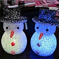 お買い得  LED ガジェット-LEDナイトライト 防水 バッテリー PVC 1ライト 電池付き 8.0*8.0*6.0cm