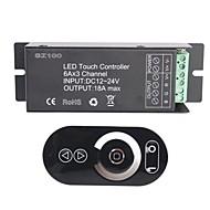 abordables Interruptores  y Enchufes-6a de 3 canales smart rgb rf inalámbrico llevó el regulador del panel táctil para rgb llevó la lámpara de la tira (CC 12 ~ 24v)