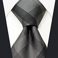 cheap -Men's Work / Basic Necktie - Color Block / Plaid Basic