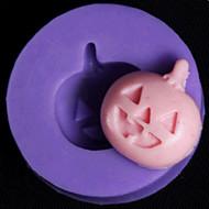 お買い得  キッチン用小物-ハロウィーンカボチャのフォンダンケーキチョコレートベーキングシリコーン型、l2.8cm * w2.8cm * h0.8cm