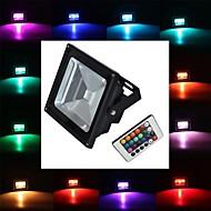 tanie Reflektory LED-900 lm Reflektory LED 1 Diody lED High Power LED Zdalnie sterowana RGB AC 85-265V