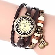 voordelige Bohémien horloges-Dames Kwarts Armbandhorloge PU Band Bohémien / Modieus Zwart / Wit / Blauw / Rood / Orange / Bruin / Groen