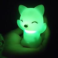 abordables Coway-Luz nocturna 3D Impermeable Batería CLORURO DE POLIVINILO 1 Luz Baterías Incluidas 7.0*7.0*6.0cm