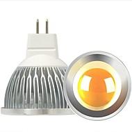 4W GU5.3 (MR16) LED-spotlampen A60 (A19) COB 300-400 lm Warm wit 2800-3000 K Dimbaar Decoratief DC 12 V