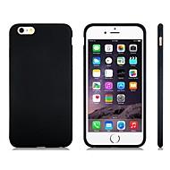 Недорогие Кейсы для iPhone 8 Plus-Кейс для Назначение Apple iPhone 8 / iPhone 8 Plus / iPhone 7 Защита от удара Кейс на заднюю панель Однотонный Мягкий Силикон для iPhone 8 Pluss / iPhone 8 / iPhone 7 Plus