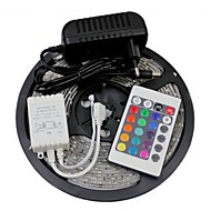 Z®ZDM 5M 300X3528 SMD RGB LED Strip Light 2A EU Power Supply (AC110-240V)