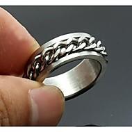 abordables Regalos Personalizados-anillo de acero inoxidable grabado joyería de los hombres de regalos personalizados