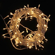 お買い得  -ZDM® 10m ストリングライト 100 LED Dip LED 温白色 / クールホワイト 防水 / 装飾用 / クリスマスウェディングデコレーション 220-240 V 1個 / IP65