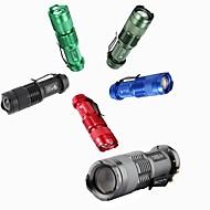 Lampes Torches LED LED 300 lm 3 Mode Mini Camping/Randonnée/Spéléologie Usage quotidien Voyage De travail Multifonction Noir Rouge Vert