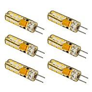 お買い得  LED コーン型電球-G4 LEDコーン型電球 T 24 SMD 3014 100-120 lm 温白色 クールホワイト AC 12 V 6個