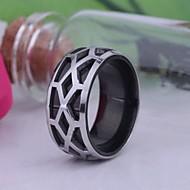 baratos -anel de aço inoxidável gravado jóias masculinas personalizadas do presente