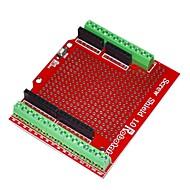 voordelige Arduino-accessoires-robotale proto schroef schild gemonteerd voor Arduino - rood
