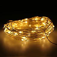 abordables BRELONG-BRELONG® 10m Cuerdas de Luces 100 LED Blanco Cálido Impermeable 12 V 1pc