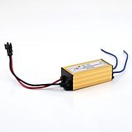 olcso LED meghajtó-6-9x1w külső vezetővezeték ac100-240v - dc 18-35v 300ma vízálló alumínium tokban