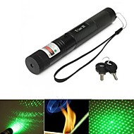 Focusing 1Mw Green Laser Pen Set G-303 Burning Burnt Paper Cut