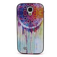 """Для Кейс для  Samsung Galaxy С узором Кейс для Задняя крышка Кейс для Рисунок """"Ловец снов"""" PC Samsung S4"""